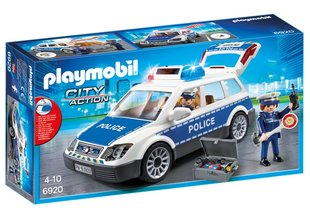 Konstruktors 6920 PLAYMOBIL® City Action, Ceļu patruļa