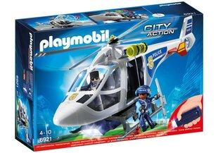 Konstruktors 6921 PLAYMOBIL® City Action, Policijas helikopters ar LED apgaismojumu