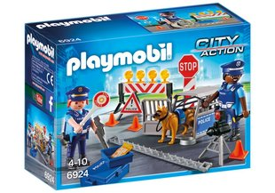 Konstruktors 6924 PLAYMOBIL® City Action, Policijas postenis