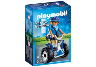 Конструктор 6877 PLAYMOBIL® City Action, Полицейский с Segway