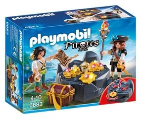 Kонструктор 6683 PLAYMOBIL® Pirates, Pirate Treasure Hideout