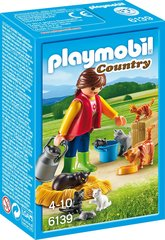 Konstruktors 6139 PLAYMOBIL® Country, Кошачья семья