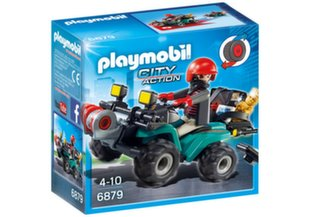 6879 PLAYMOBIL® City Action, Квадрацикл и водитель