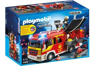 Konstruktors 5363 PLAYMOBIL® Fire Engine with Lights and Sound
