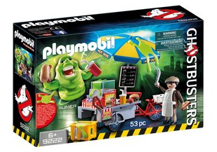 Konstruktors 9222 PLAYMOBIL® Ghostbusters™ Slimer with Hot Dog Stand