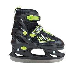 Regulējamas hokeja slidas Nils Extreme NF7104A, melnas-zaļas