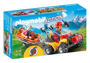 Konstruktors 9130 PLAYMOBIL® Action, Mountain Rescue Quad