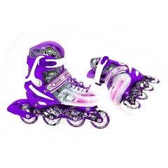 Regulējamas skrituļslidas Nils Extreme NJ1812A, violeta cena un informācija | Skrituļslidas | 220.lv