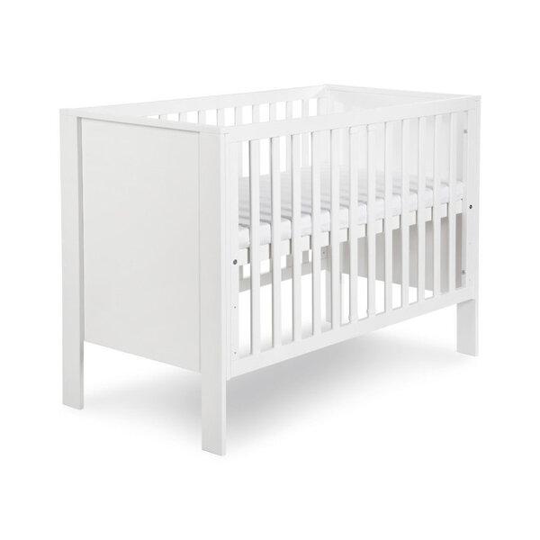 Bērnu gulta Klupś Leo, balta cena un informācija | Zīdaiņu gultas | 220.lv