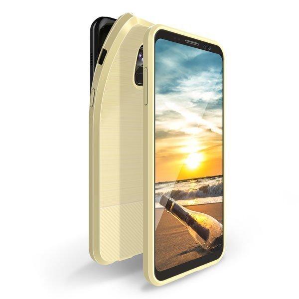 AizsargvāciņšDux Ducis Mojo, piemērots Huawei P20 Lite telefonam, zeltains