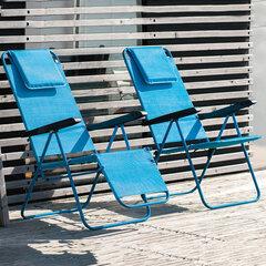 Стул Patio Merano Plus D027-11TB, синий цена и информация | Кресла для сада | 220.lv