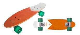 Skrituļdēlis Street Surfing Beach Board 22, Koks / oranža cena un informācija | Skrituļdēļi | 220.lv