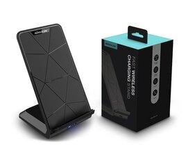 Telefona lādētājsNillkin Fast Wireless Charging Qi Stand ar micro USB vadu, melns cena un informācija | Lādētāji un adapteri | 220.lv