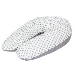 Мультифункциональная подушка CebaBaby, MULTI (190x35), ромбы