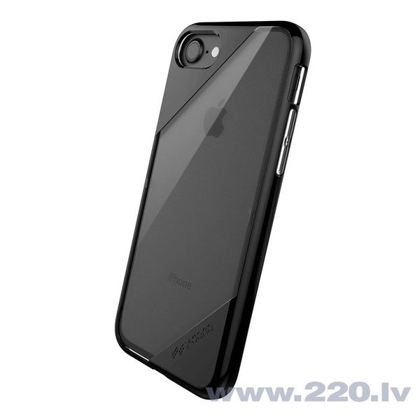 Apple iPhone 7/7S/8 Recel Lux Clear Cover By Xdoria Black