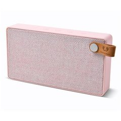 Bluetooth stereo skaļruņi Fresh'N Rebel Rockbox Slice Fabriq Edition, rozā