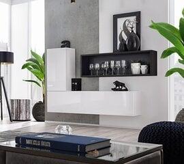 Комплект мебели Blox 4, черный/белый цена и информация | Комоды, ночные шкафчики | 220.lv