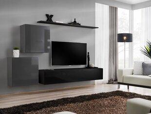 Sekcija Switch V, pelēka / melna