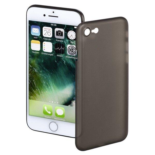 Aizsargvāciņš Hama Ultra Slim, piemērotsApple iPhone 7telefonam, melns