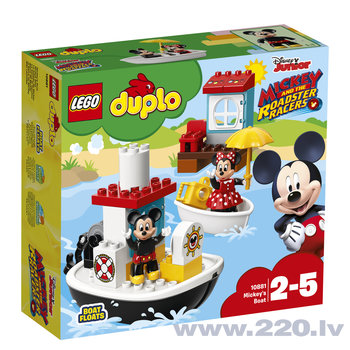 10881 LEGO® Duplo, Disney TM - Mike's boat