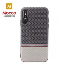 Aizsargmaciņš Mocco Trendy Grid And Stripes Silicone Back Case Apple iPhone 7 Plus / 8 Plus Grey (Pattern 2)