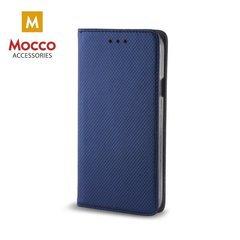 Aizsargmaciņš Mocco Smart Magnet Book Case Samsung G965 Galaxy S9 Plus Blue