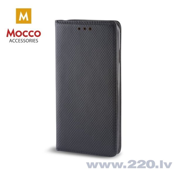 Aizsargmaciņš Mocco Smart Magnet Book Case LG G7 Black