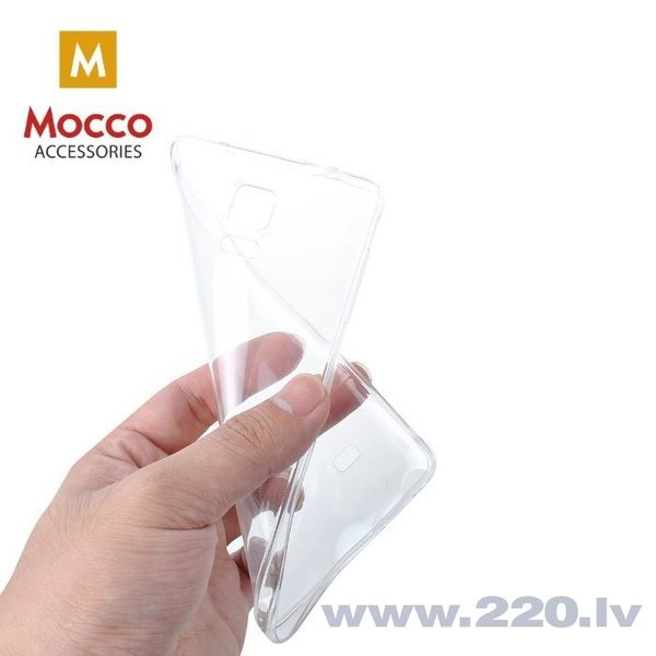 Aizsargmaciņš Mocco Ultra Back Case 0.3 mm Silicone Case Huawei Y5 (2018) Transparent cena