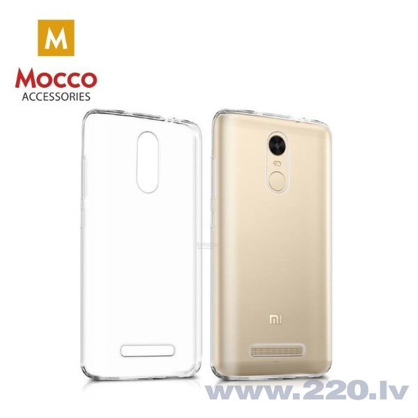 Aizsargmaciņš Mocco Ultra Back Case 0.3 mm Silicone Case Huawei Y7 (2018) Transparent