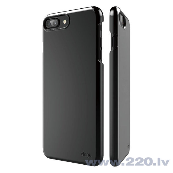 Aizsargmaciņš Elago S7 Slim Fit 2 Case Piano Black, Apple iPhone 7