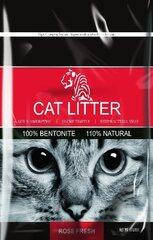 Bentonīta kaķu pakaiši ar rozes aromātu Tiger Pet, 5 l