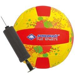 Pludmales volejbola bumba ar pumpi Schildkrot Neoprene Beachvolley, 21 cm