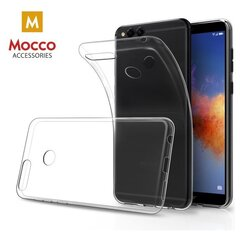 Mocco Ultra Back Case 0.3 mm Silicone Case for Huawei P Smart / Enjoy 7S Transparent