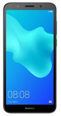 Huawei Y5 (2018), Dual SIM, Melns