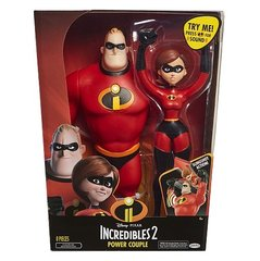 Figūriņu komplekts Mrs. un Mr. Incredible, Incredibles 2