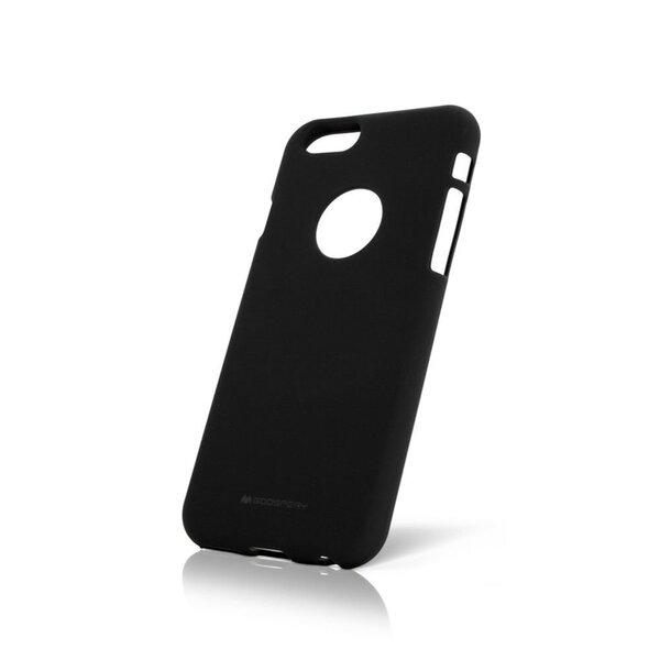 Aizsargmaciņš Mercury Apple iPhone 7 Plus/8 Plus Soft Feeling Jelly Case Black