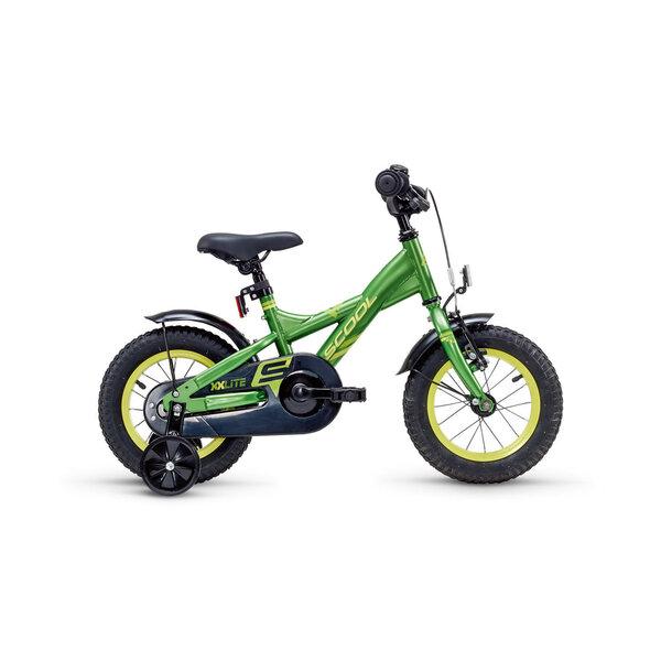 Zēnu velosipēds Scool XXlite steel 1 speed, zaļš