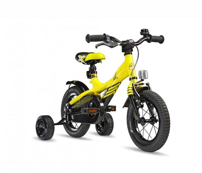 Zēnu velosipēds Scool XXlite 1 speed, dzeltens cena