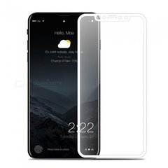 Stikla aizsargs  Swissten Ultra Durable 3D Japanese Tempered Glass, priekš Apple iPhone X, caurspīdīgs/balts cena un informācija | Stikla aizsargs  Swissten Ultra Durable 3D Japanese Tempered Glass, priekš Apple iPhone X, caurspīdīgs/balts | 220.lv