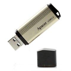 USB zibatmiņa Apacer USB 3.0, 32 GB, AH353, ar vāciņu, zeltaina cena un informācija | USB Atmiņas kartes | 220.lv