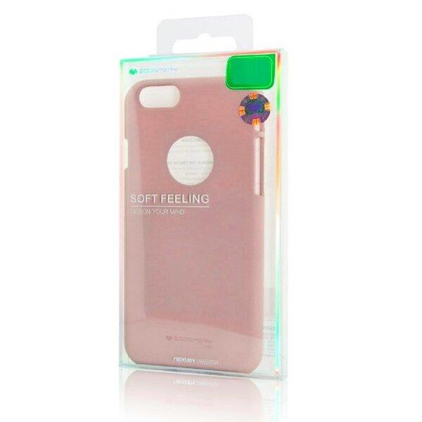 Aizsargvāciņš Mercury Soft feeling, piemērots Samsung A530F Galaxy A5 (2018) / A8 (2018) telefonam, rozā atsauksme