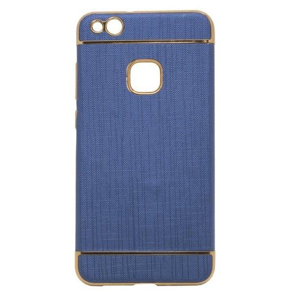 Telefona aizmugurējais apvalks Mocco Exclusive Crown, paredzēts Apple iPhone 8 Plus, tumši zils