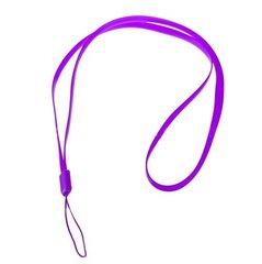 Šņorīte-atslēgu piekariņš Mocco Universal Mobile Stripe, piemērots telefoniem un planšetdatoriem, 33.5 cm, violets цена и информация | Др. аксессуары | 220.lv