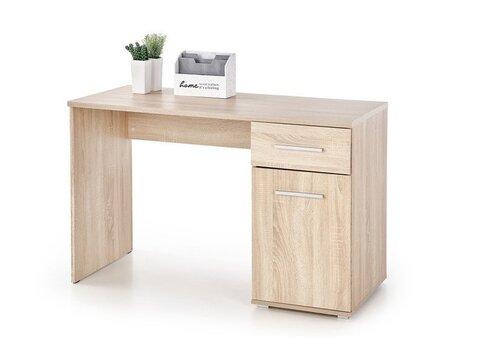 Письменный стол Halmar Lima B-1, дубовый цвет цена и информация | Компьютерные, письменные столы | 220.lv