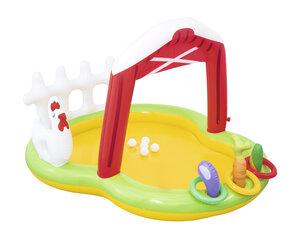 Piepūšamais rotaļu baseins Lil' Farmer Play Center Bestway цена и информация | Игрушки для воды, песка, пляжа | 220.lv