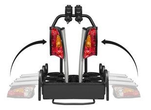 Automašīnu velosipēdu turētājs uz āķa Menabo Antares Plus ar noliekšanas mehānismu cena un informācija | Velo turētāji | 220.lv