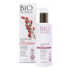 Acu un sejas kosmētikas tīrīšanas līdzeklis ar dabīgām goji ogām Bio Phytorelax Active Age Goji 200 ml