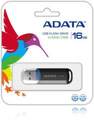 A-Data 16GB USB2.0 Flash Drive C906 Black цена и информация | USB карты памяти | 220.lv
