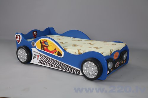 Gulta ar matraci Monza Mini, zila