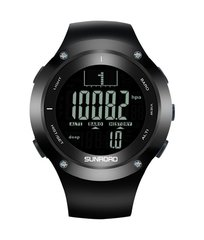 Sunroad Fishing Watch, Melns/Balts цена и информация | Смарт-часы (smartwatch) | 220.lv